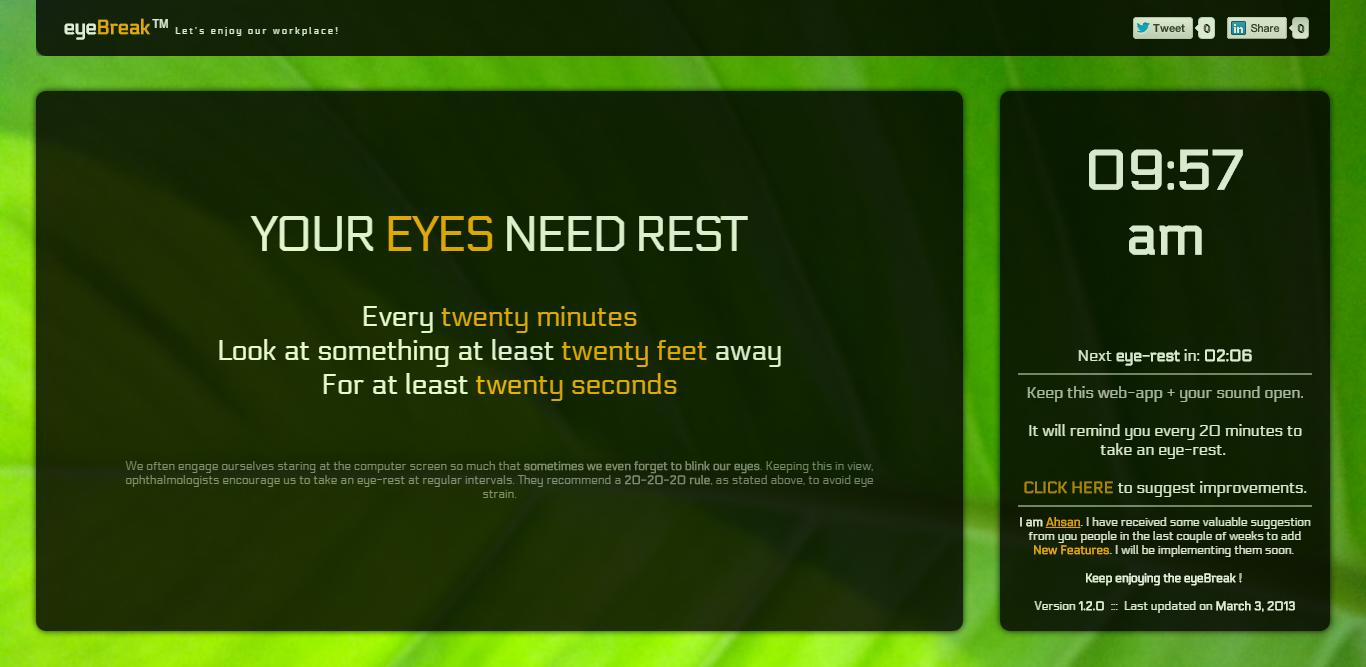 Eye Break