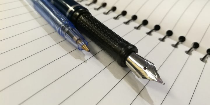 Ballpoint vs Fountain-pen